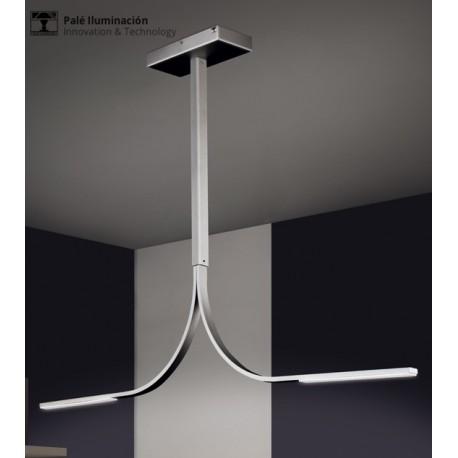 L mpara de techo led pal iluminaci n - Apliques techo led ...