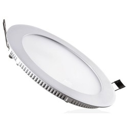 Downlight LED 22w redondo gris